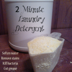 2 Minute Laundry Detergent