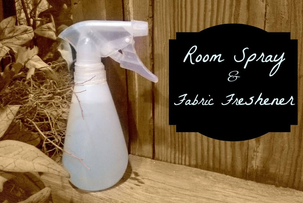 DIY Room Freshener Spray - The Herbal Spoon
