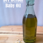 DIY Herbal Baby Oil (for the whole family!)