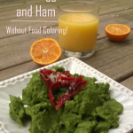 Green Eggs and Ham Without Food Coloring