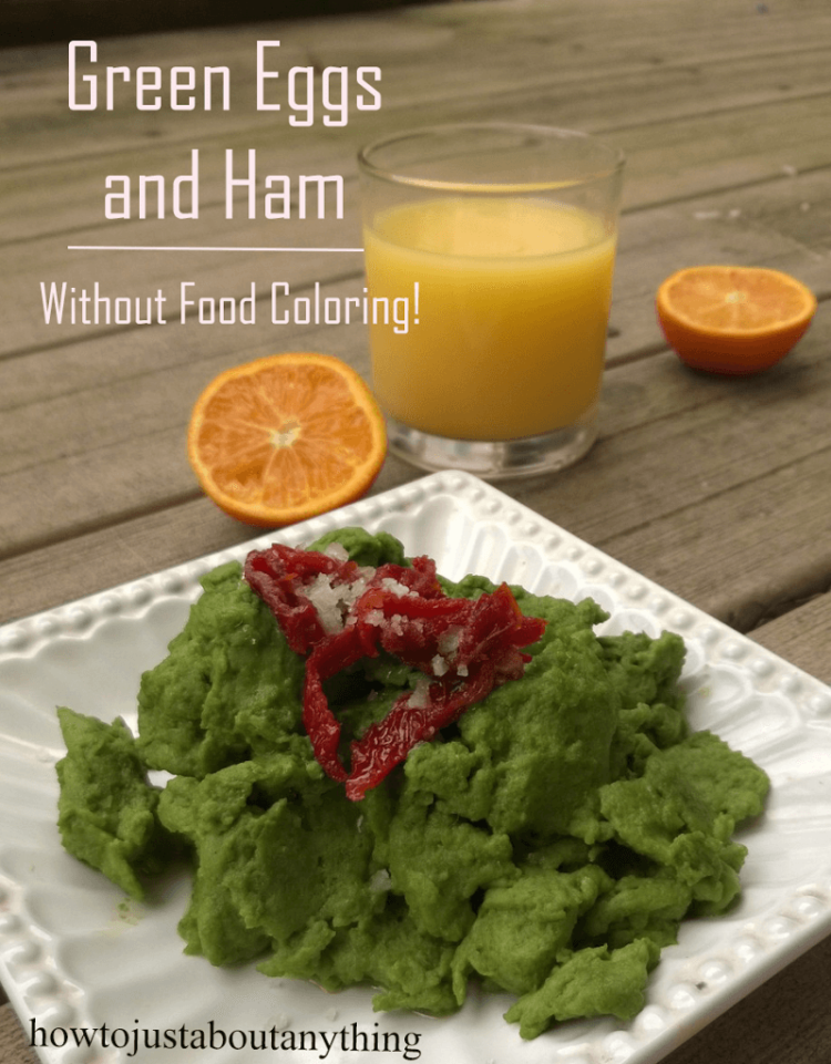 Green Eggs And Ham Without Food Coloring The Herbal Spoon