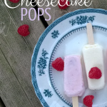 2 Ingredient Berry Cheesecake Pops (and DIY Cream Cheese!)