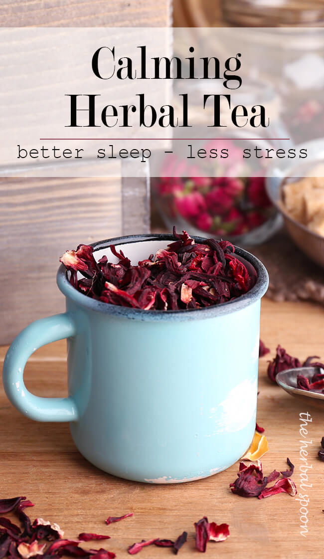 How to destress and get your best sleep ever with calming tea - The Herbal Spoon