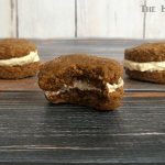 Pumpkin Oatmeal Cream Pies – with White Chocolate Cream Cheese Filling