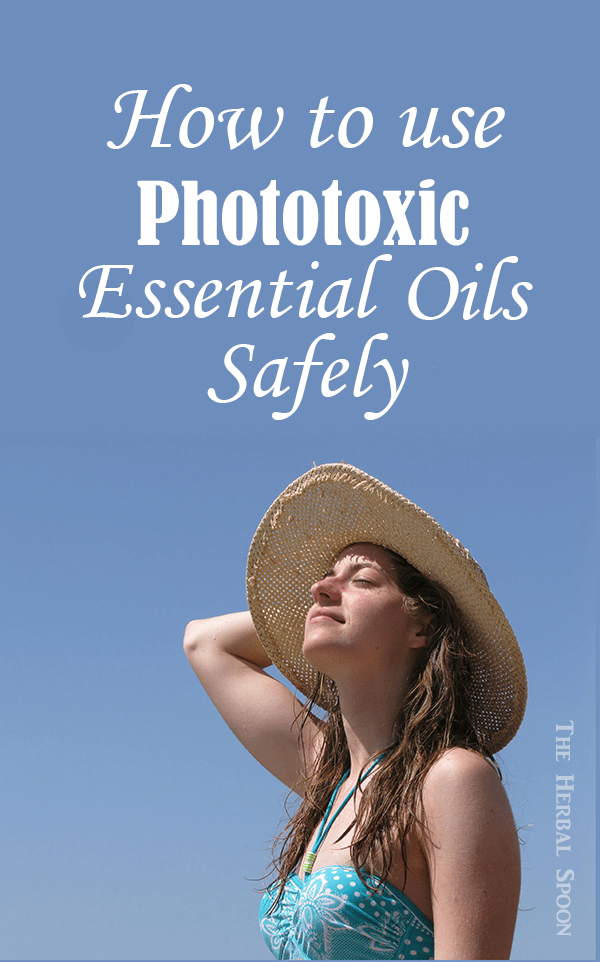 Esential oil safety with phototoxic oils and guidelines for using them in skincare - The Herbal Spoon