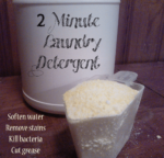 2 minute laundry detergent - The Herbal Spoon