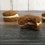 Pumpkin oatmeal cream pie with white chocolate cream cheese frosting, gluten free - The Herbal Spoon