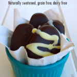 Healthy Chocolate Peanut Butter Eggs – Naturally Sweetened, Gluten and Dairy Free