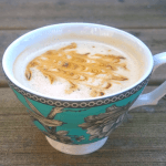 Nourishing Gingerbread Latte, Naturally Sweetened