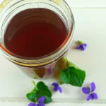 How to Make Violet Syrup and Violet's Health Benefits