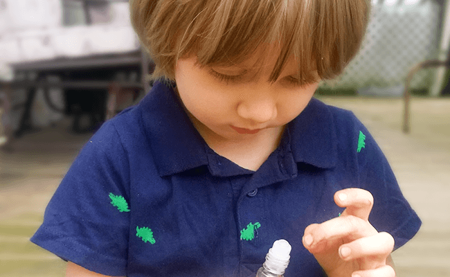 How to Use Essential Oils Safely with Children and Babies