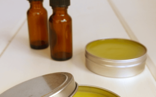 Natural bug repellant diy badger balm