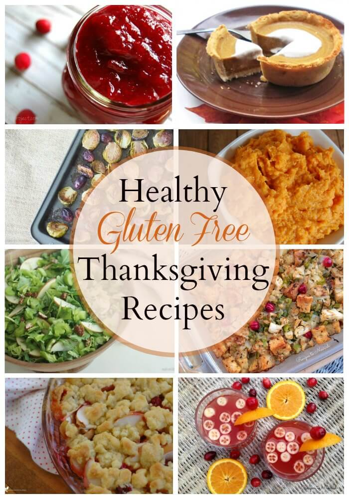 Healthy Gluten Free Thanksgiving Recipes