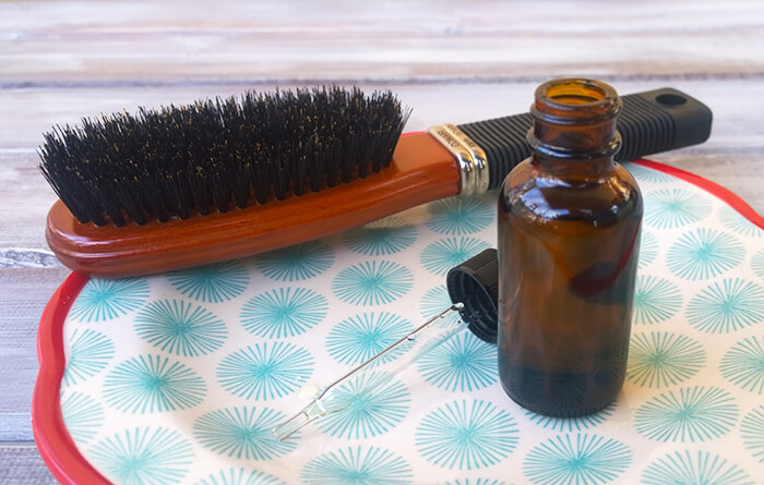 Prevent thinning hair with a natural hair loss treatment serum that works! - The Herbal Spoon