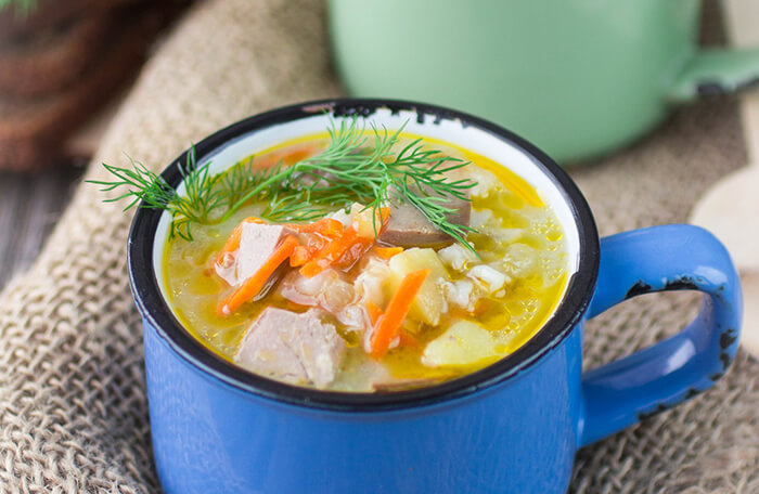 Cold busting, nutrirent dense, chicken noodle soup. - The Herbal Spoon