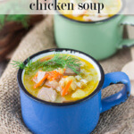 Cold busting chicken soup to get you better fast